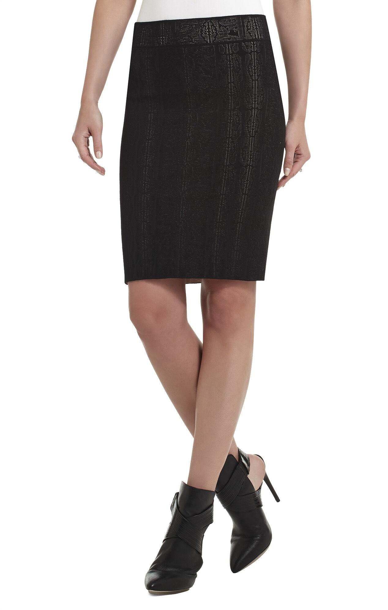 Sofia Jacquard Skirt