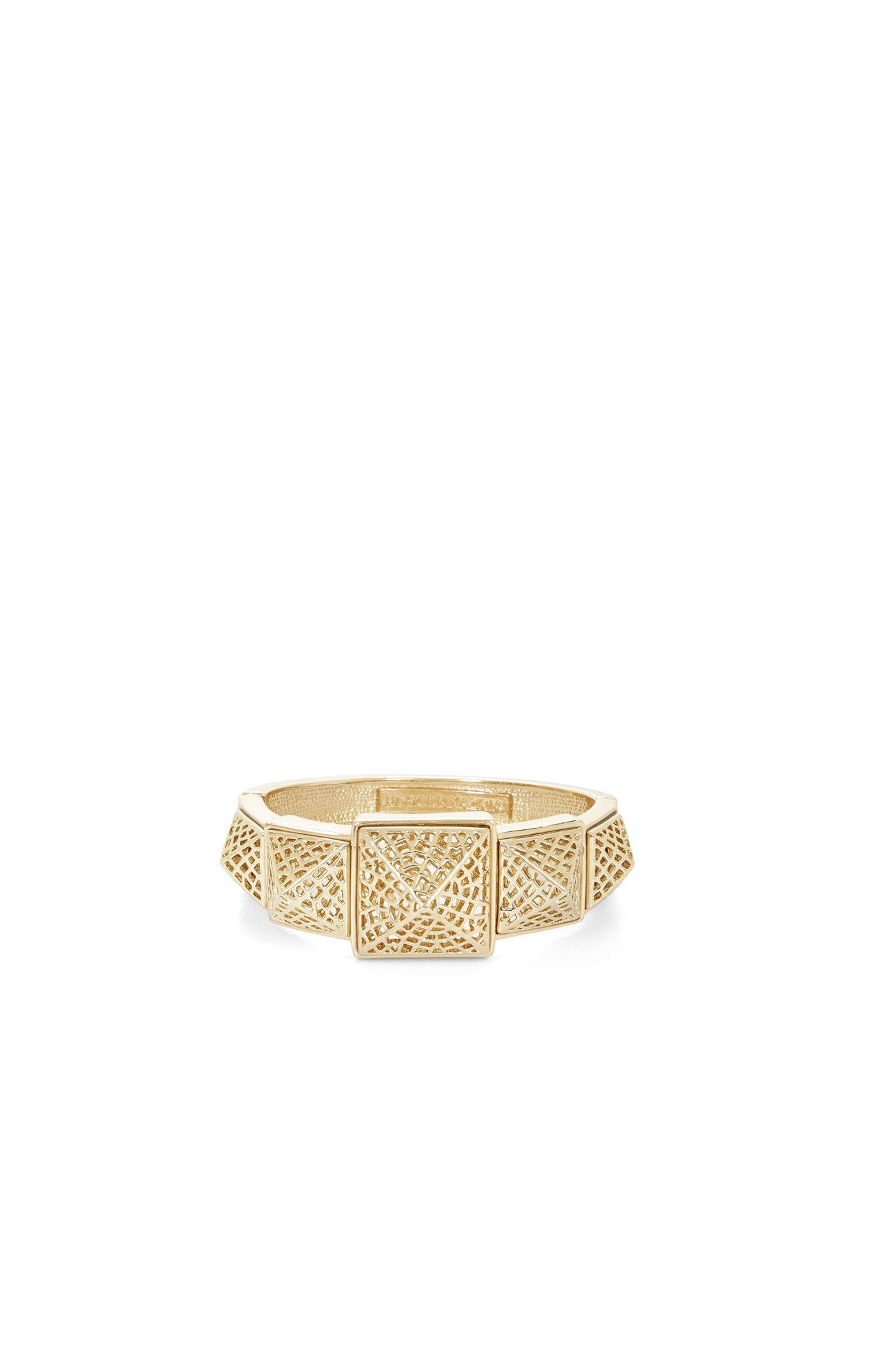 Filigree Pyramid-Stud Bracelet