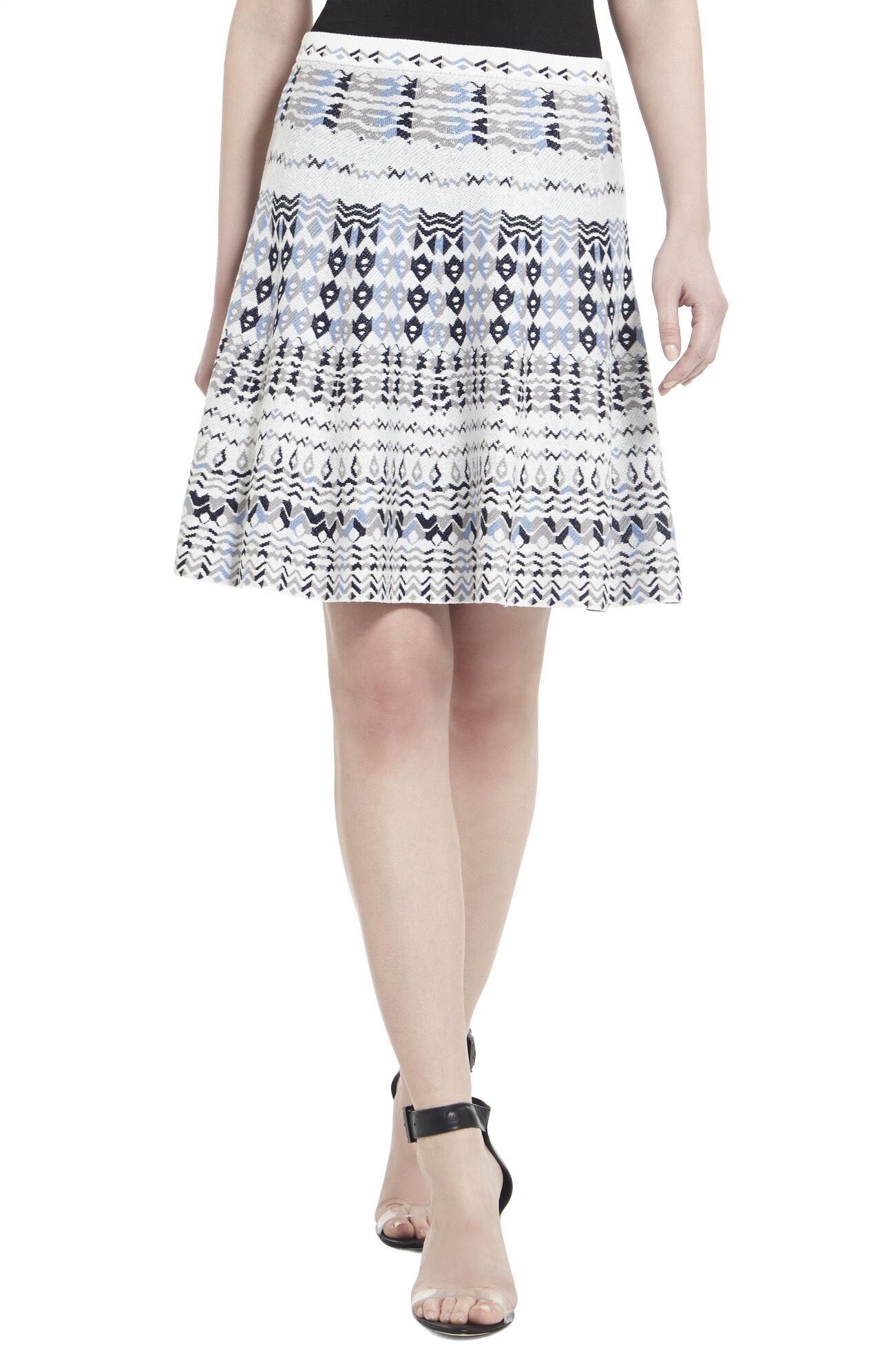 Karlie Jacquard Skirt