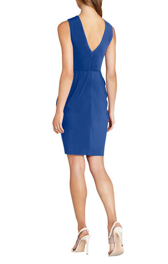 Kaia Pleated Jersey Dress