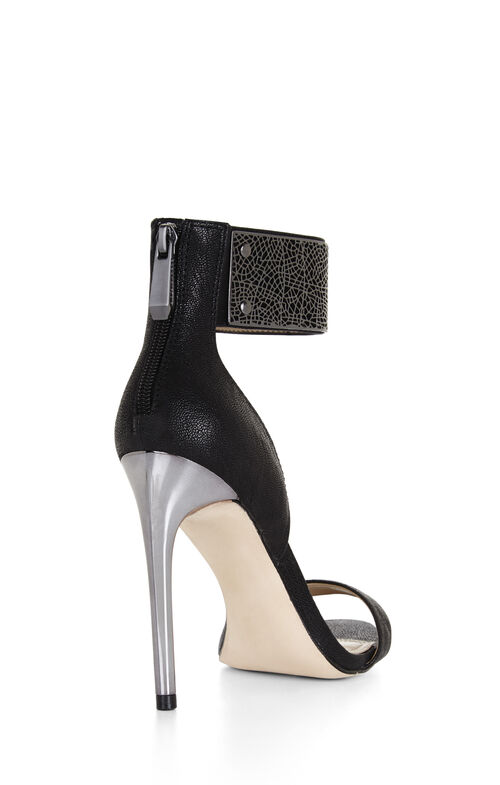 Everling High-Heel Filigree Dress Sandal