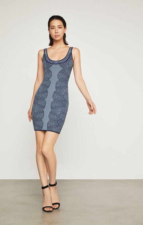 Caspar Jacquard Dress
