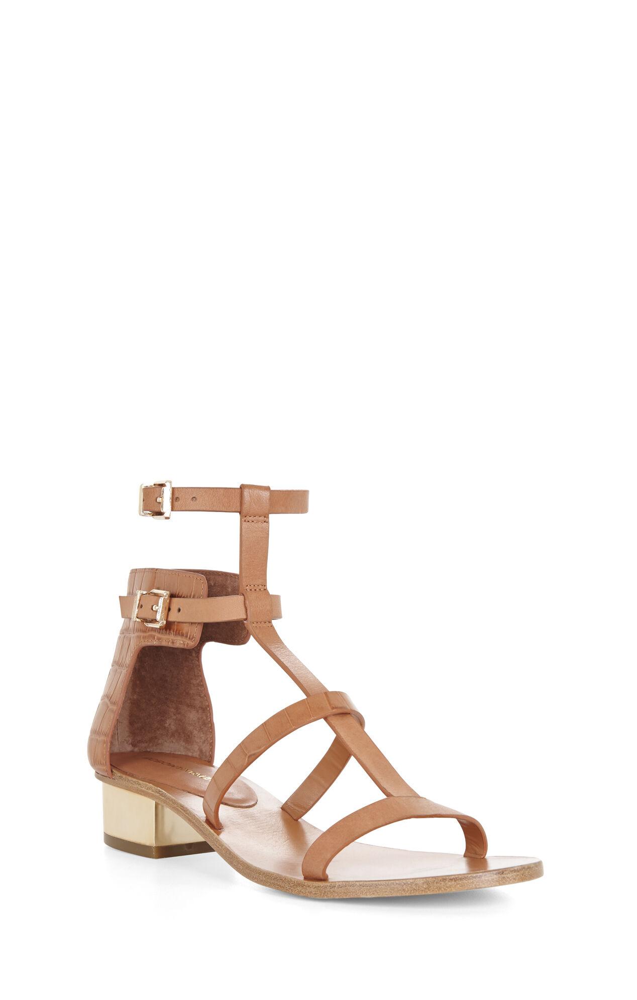 Cross T-Strap Day Sandal