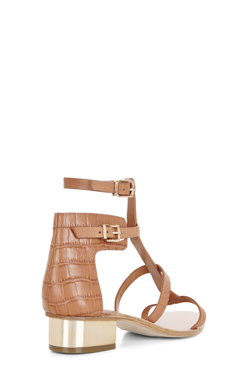 Cross T-Strap Day Sandal