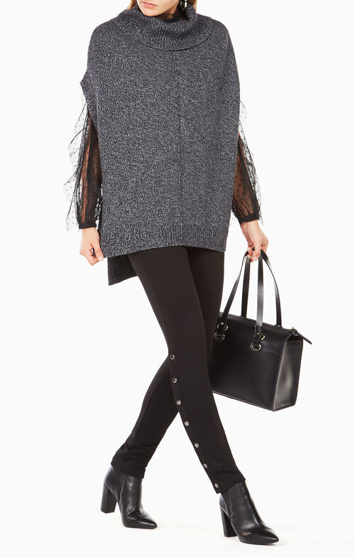 Denice Sleeveless Turtleneck Sweater