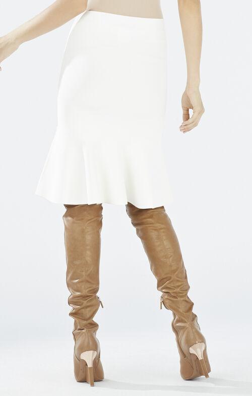 Sanya Flounce Hem Skirt