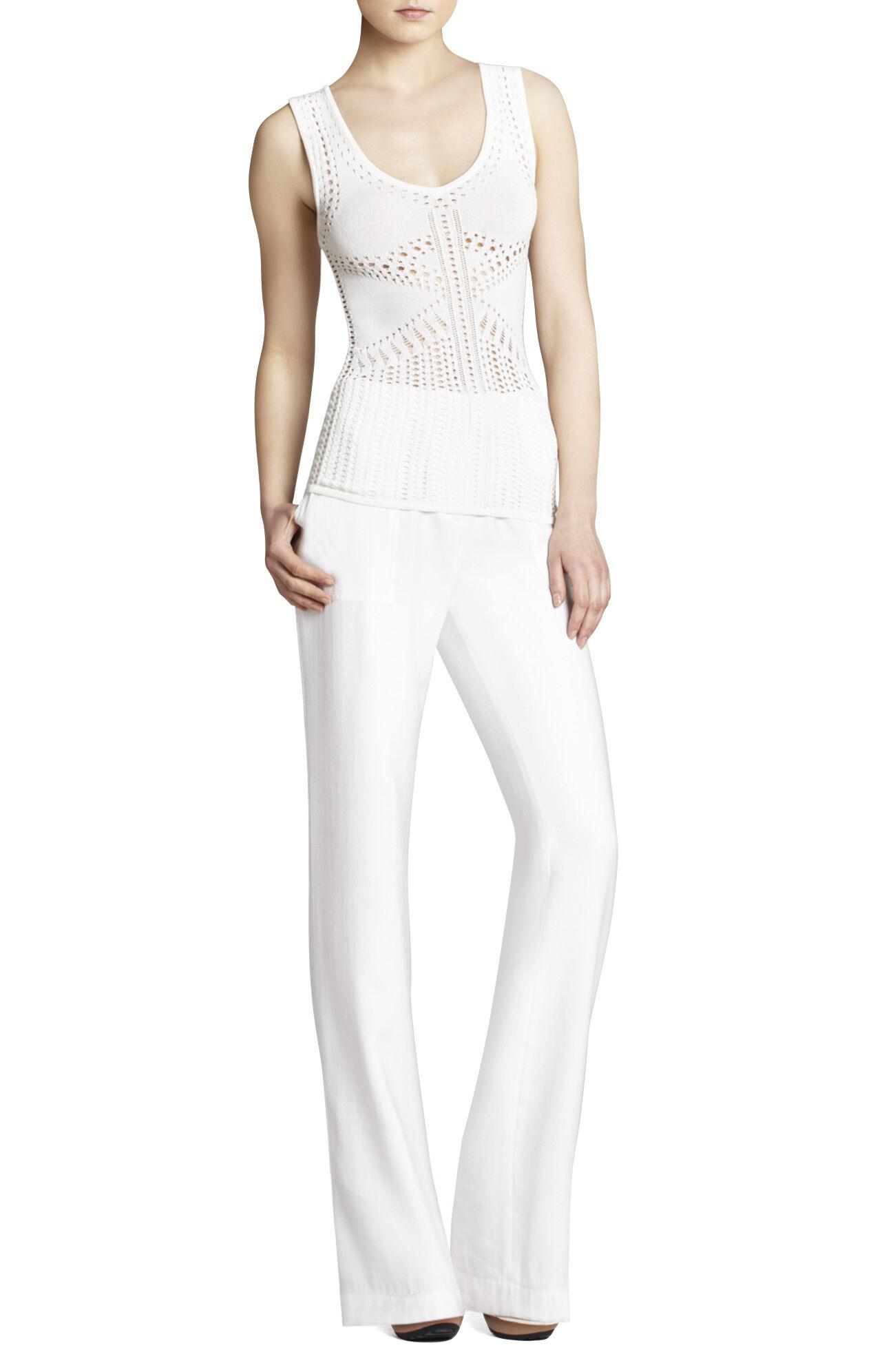 Joelle Cropped Linen Pant