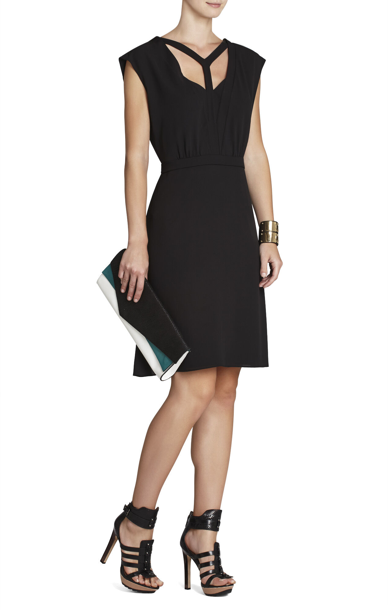 Katryn Sleeveless A-Line Dress