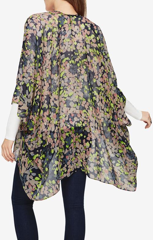 Braylon Floral-Print Kimono