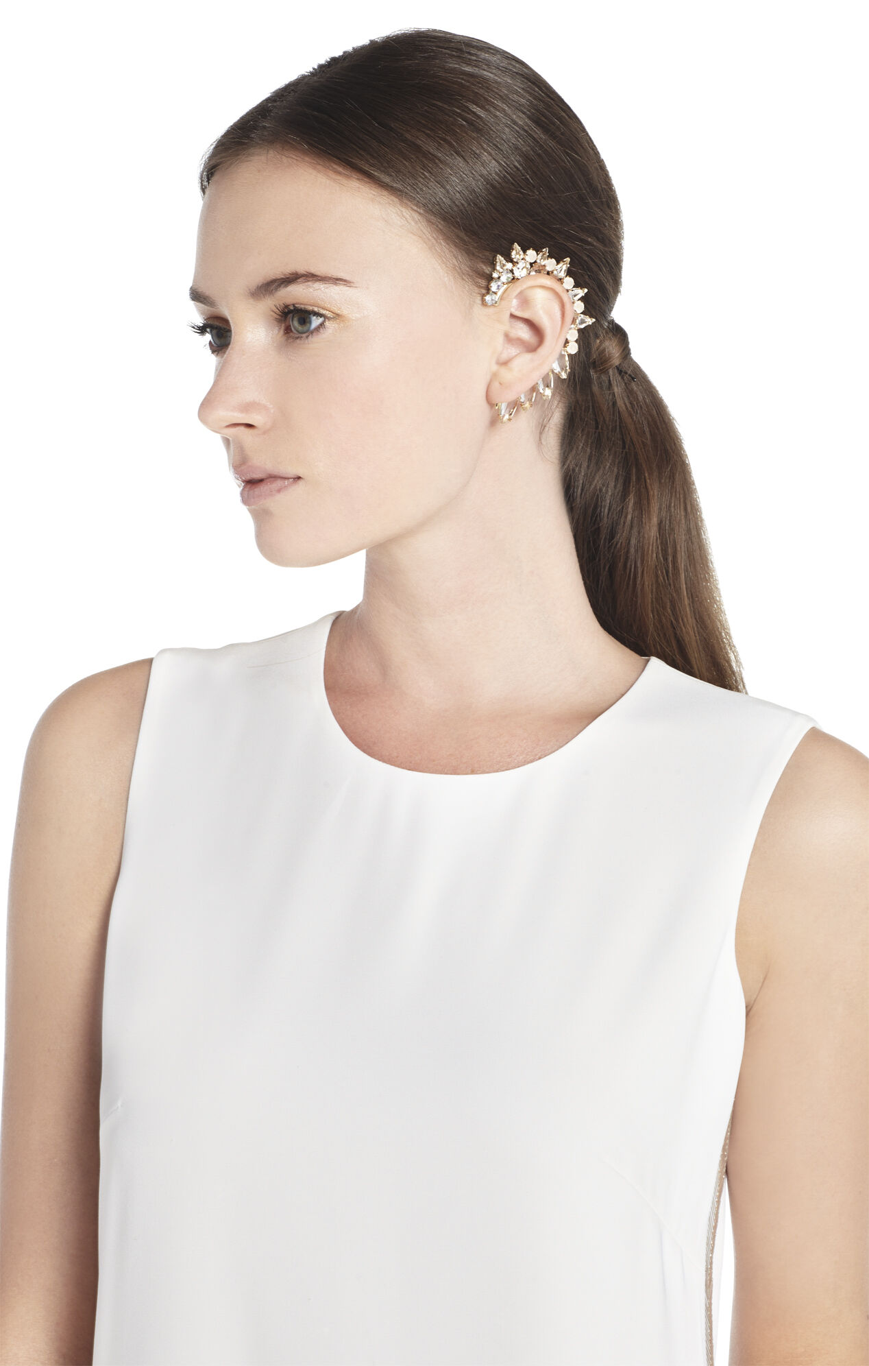 Jeweled Left Ear Cuff