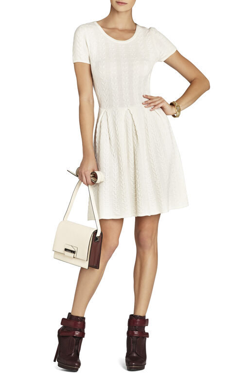 Cydney Cable A-Line Dress