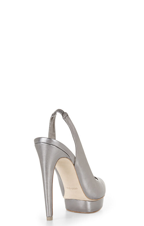 Fennel Peep-Toe Sling-Back Pump