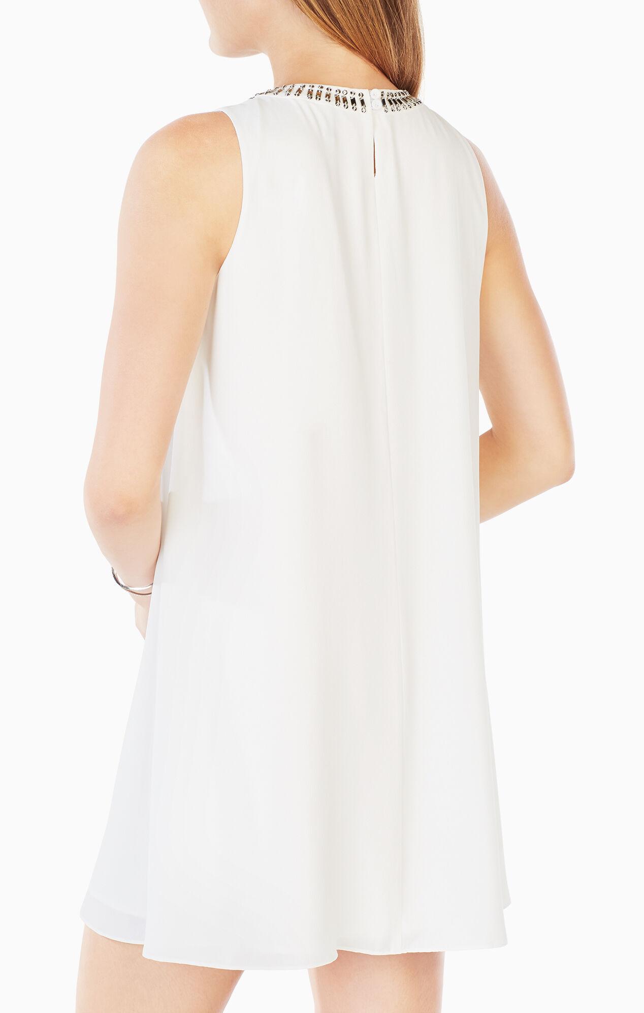 Lilleth Beaded Ruffled Dress