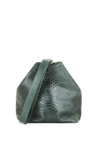 Salena Medium Python Embossed Leather Tote