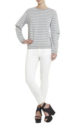 Sagan Arm-Pleat Sweatshirt