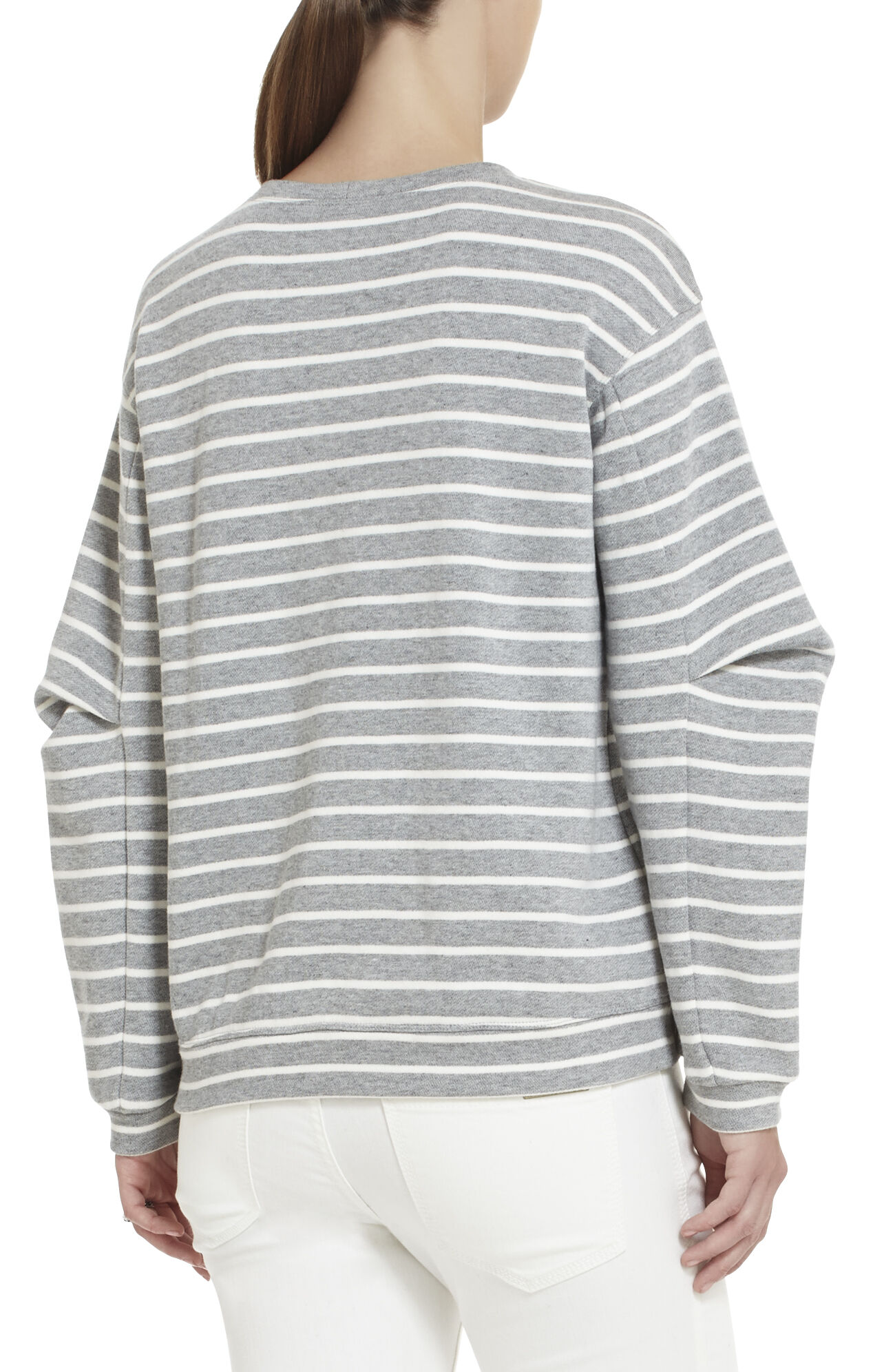 Sagan Arm-Pleat Sweatshirt