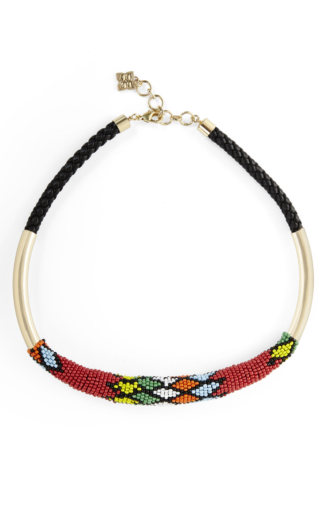 Tribal Seed Bead Necklace