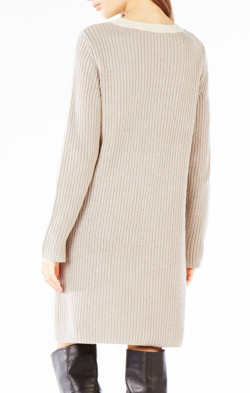 Nylah Asymmetrical Sweater Dress