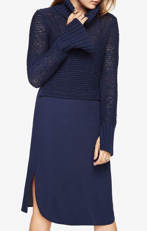 Dominick Turtleneck Sweater Dress