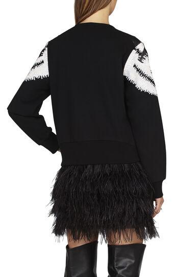 Keyla Geometric Sequin Sweatshirt