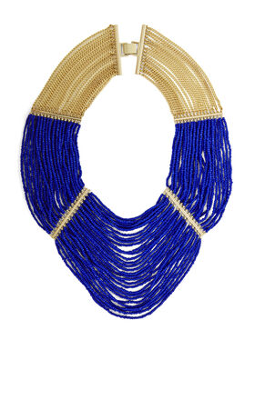 Draped Bead Necklace
