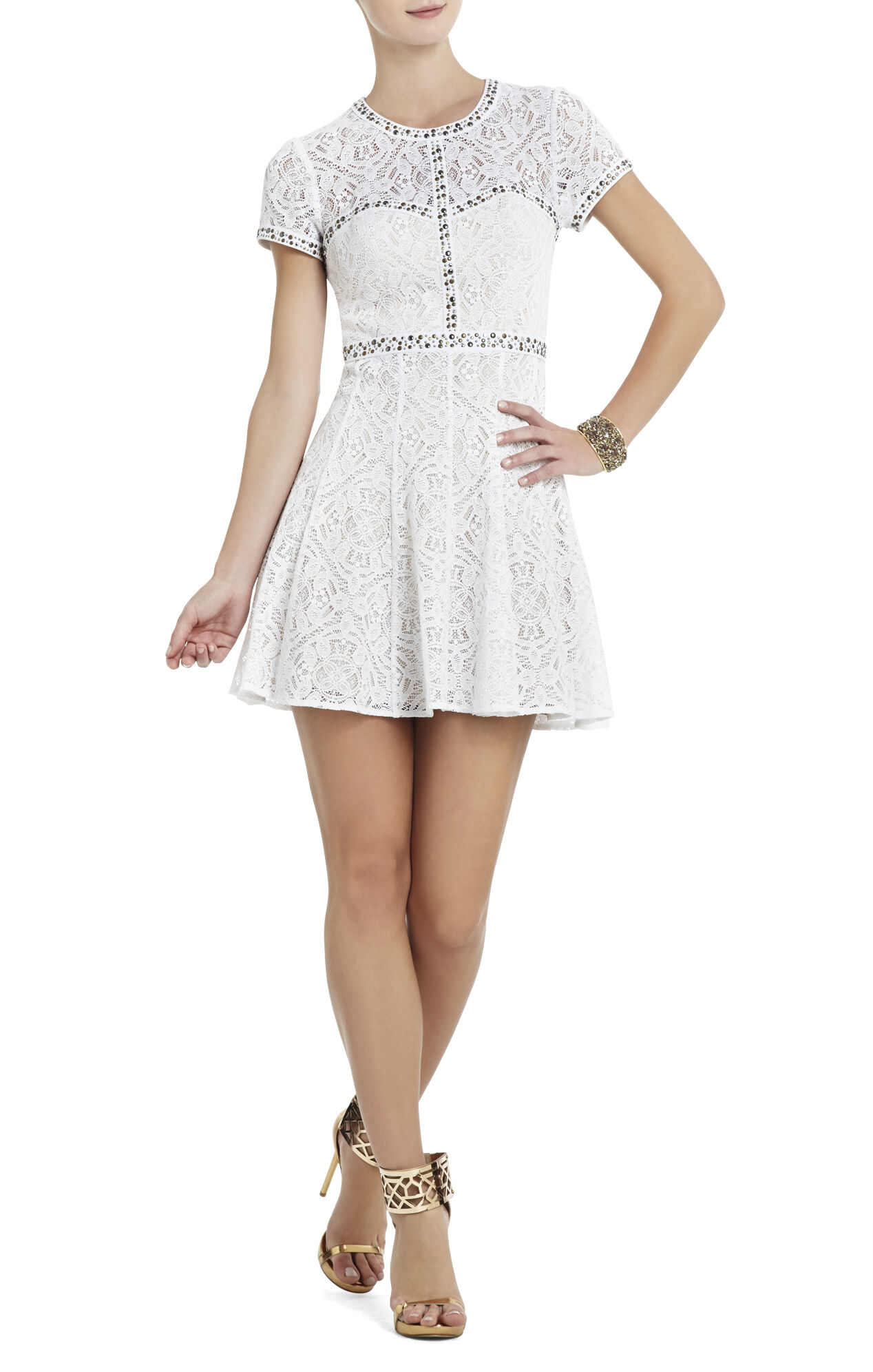 Gill Lace-Embellished Dress