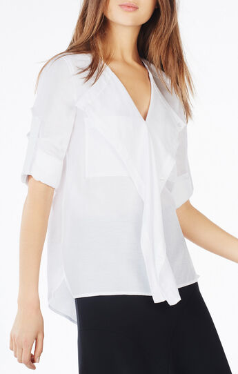 Eveline Draped Top
