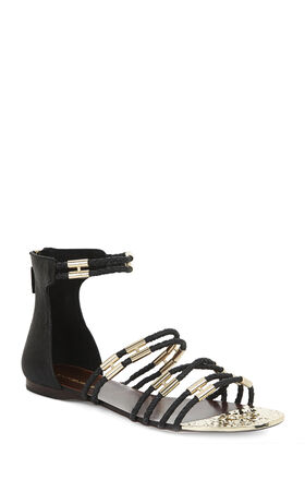 Royale Metallic-Trim Sandal