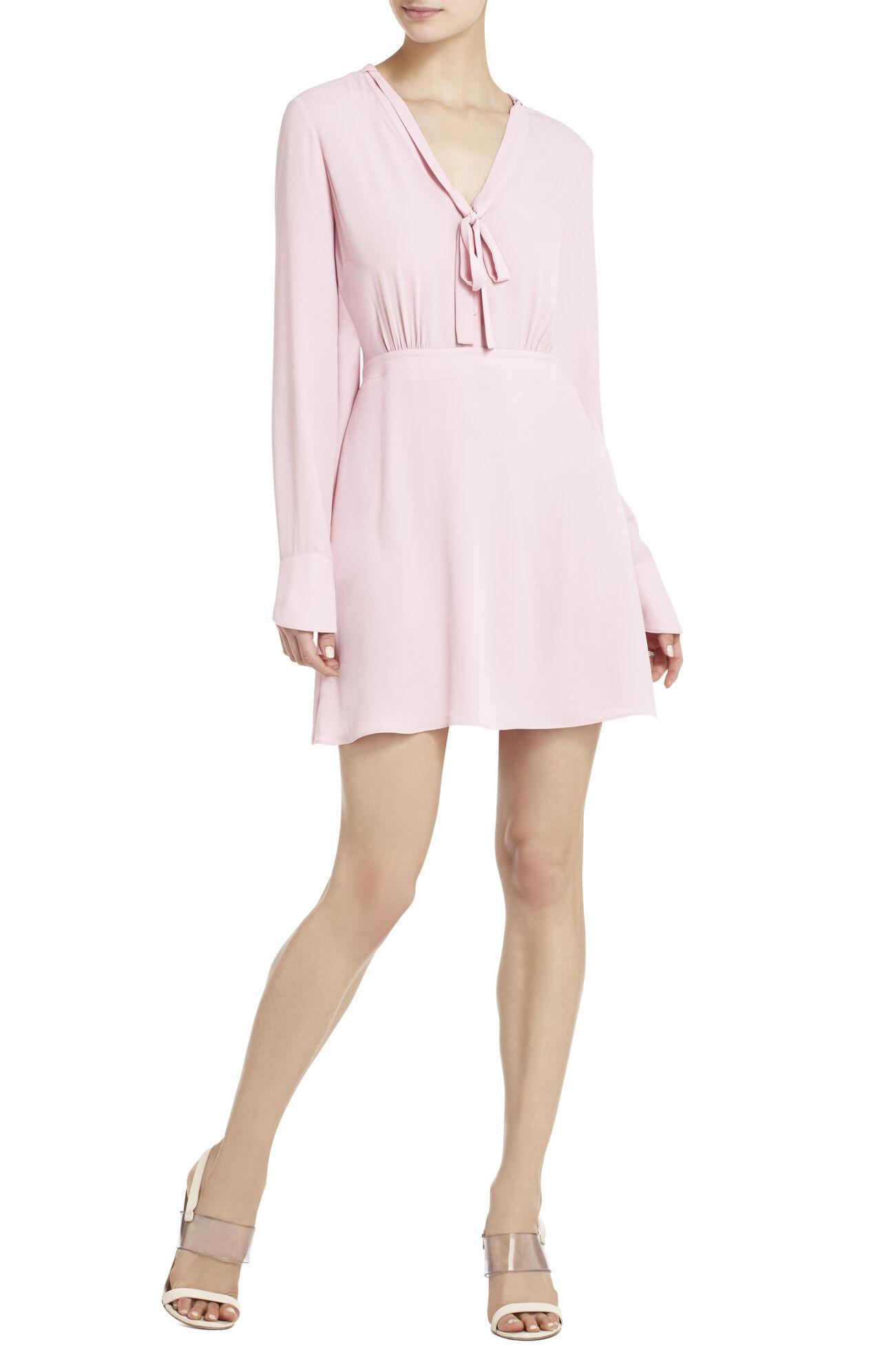 Long-Sleeve Blouse Dress