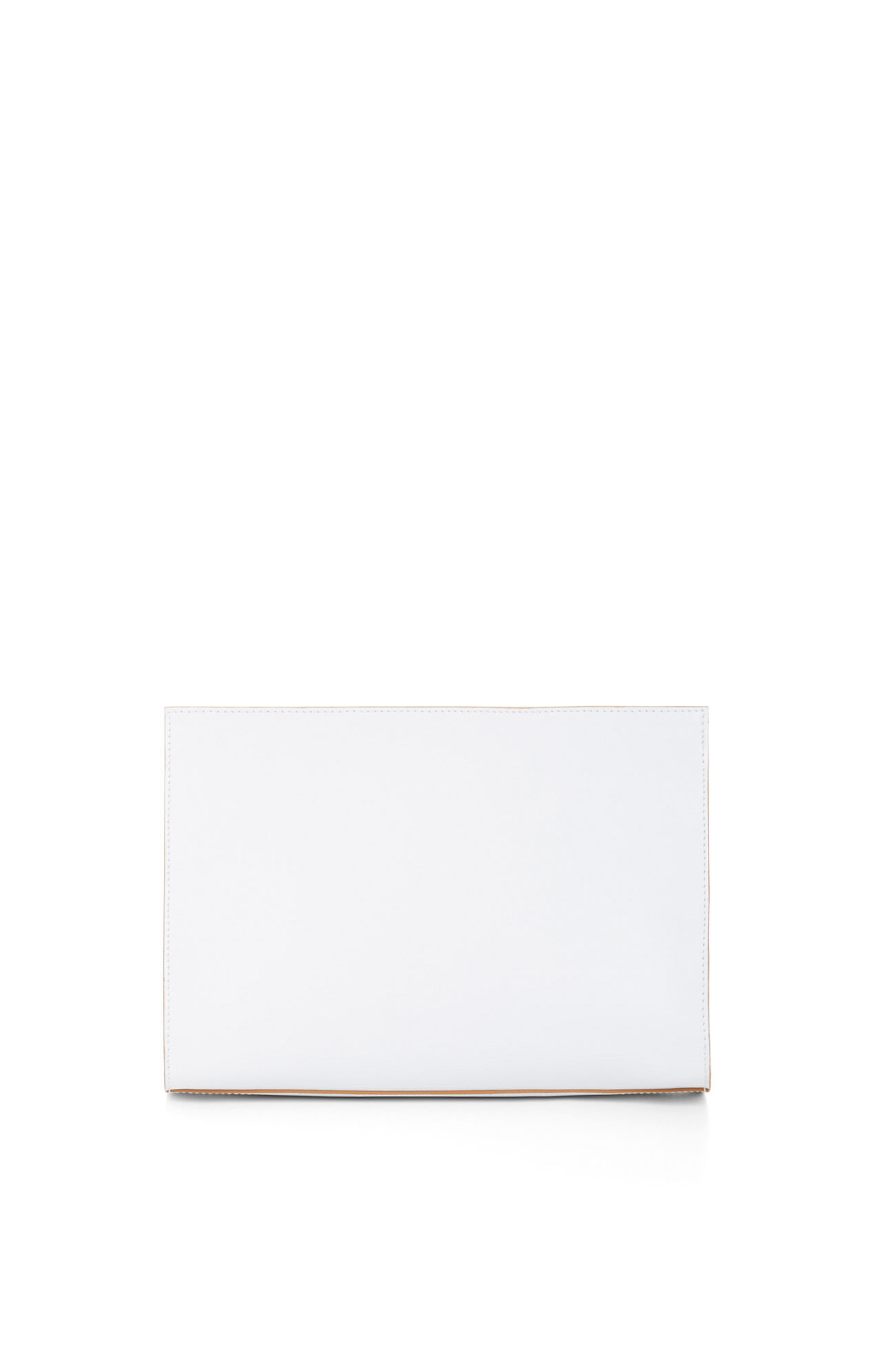 Emely Zip-Top Leather Clutch