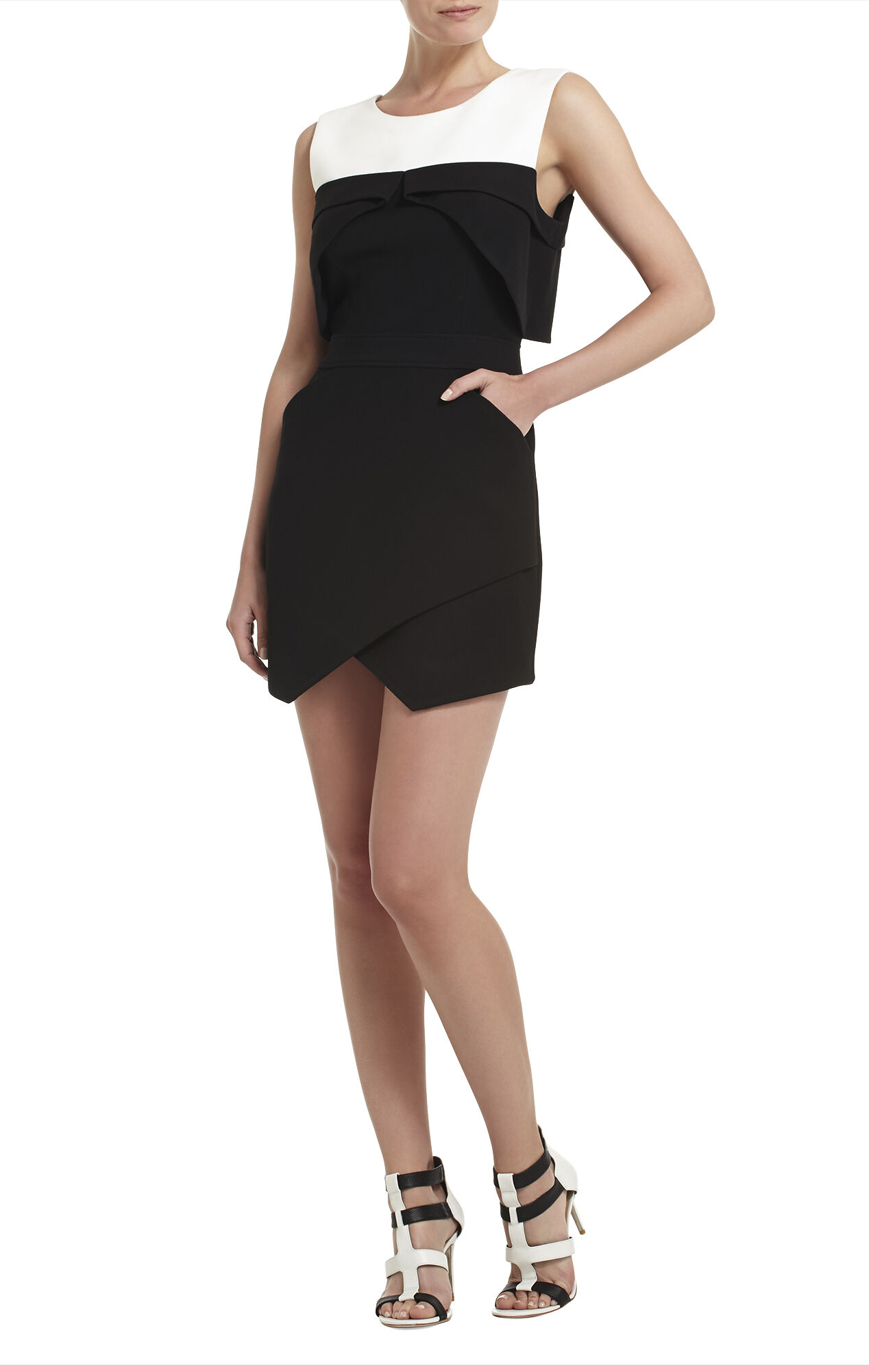 Annisa Sleeveless Asymmetrical-Hem Dress