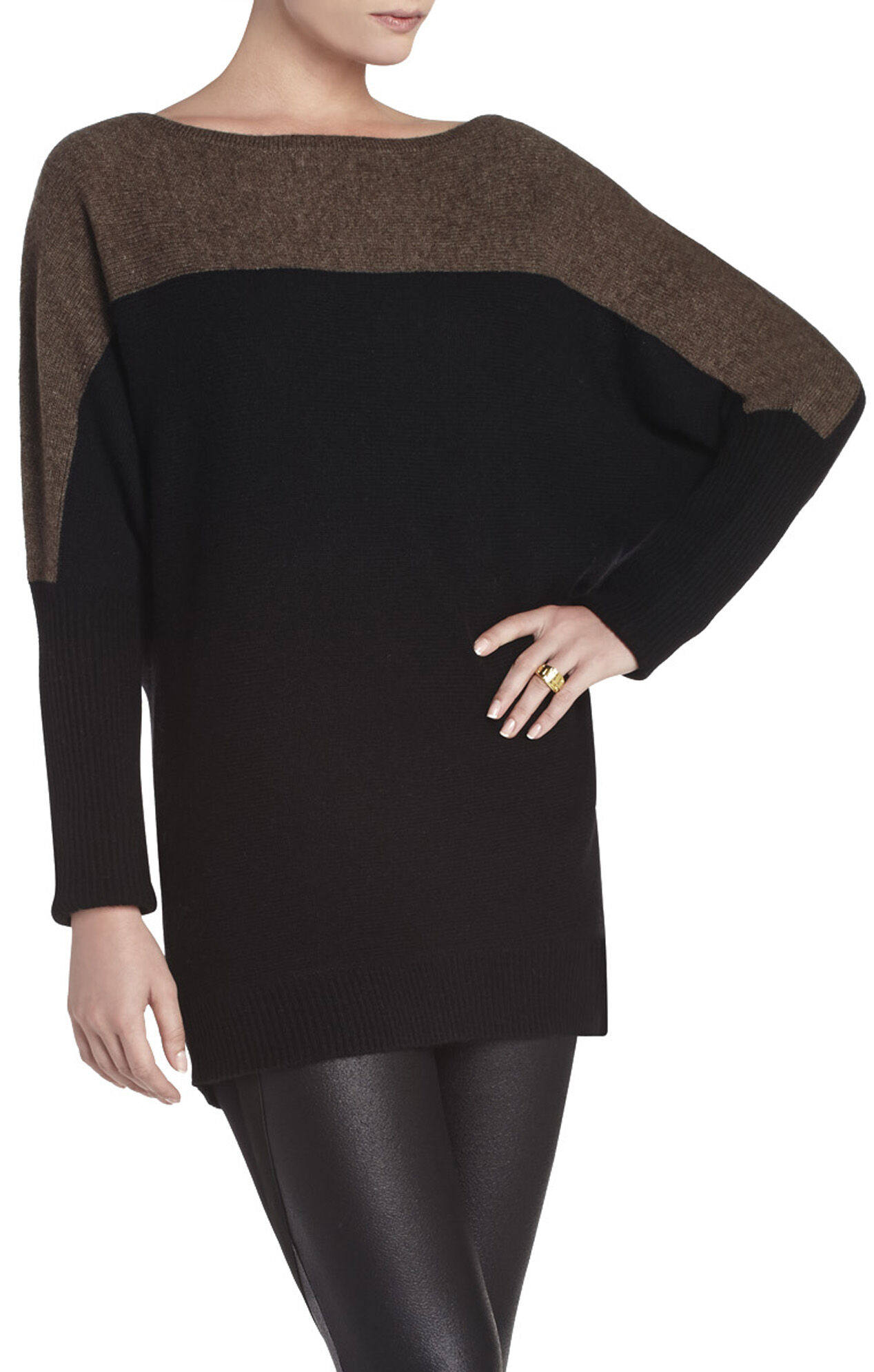 Karlie Color-Blocked Dolman Pullover