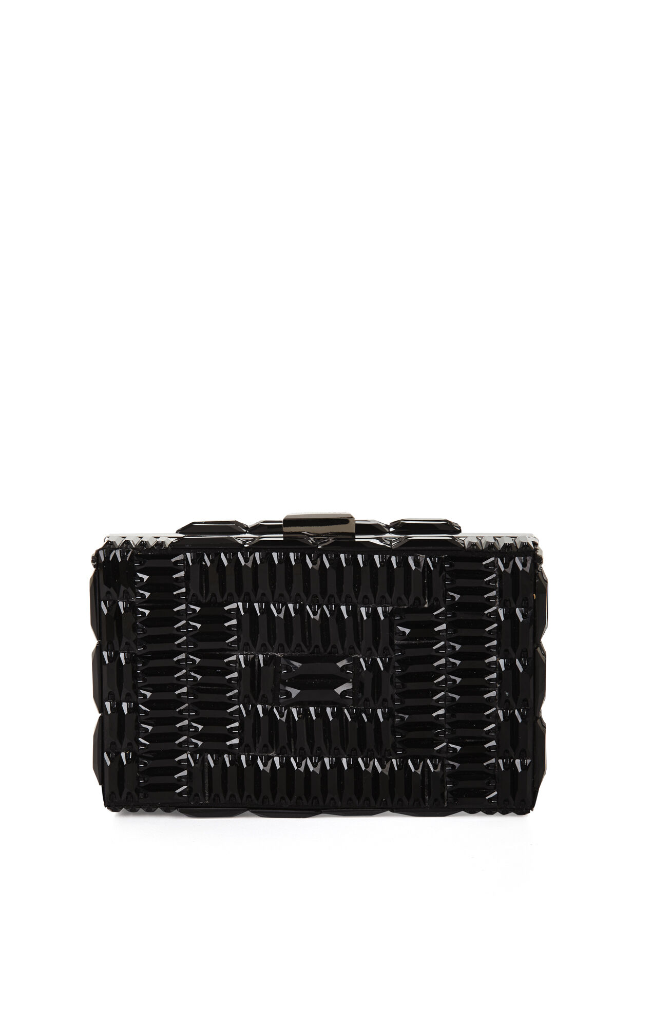 Lexi Large Beaded Box Clutch