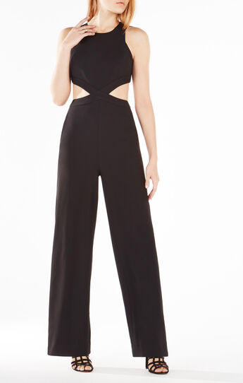 Emjay Wide-Leg Cutout Jumpsuit