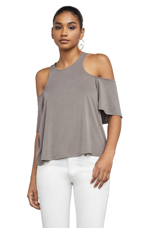 Kelsey Cold-Shoulder Top