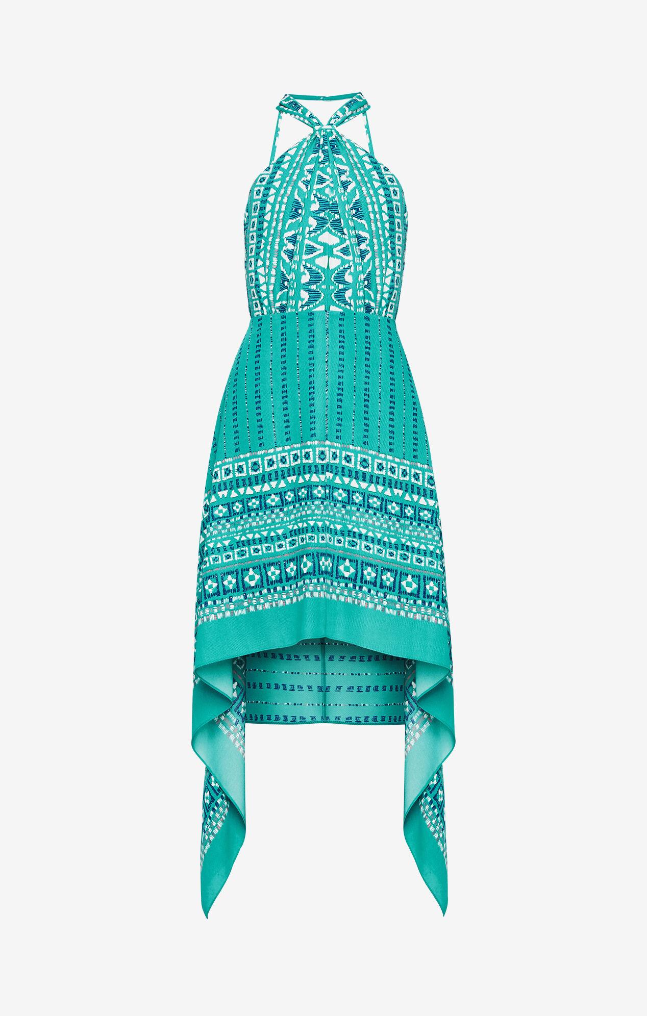 Danela Halter Scarf Dress