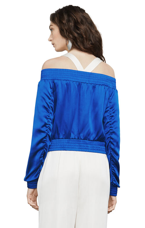 Flora Off-The-Shoulder Bomber
