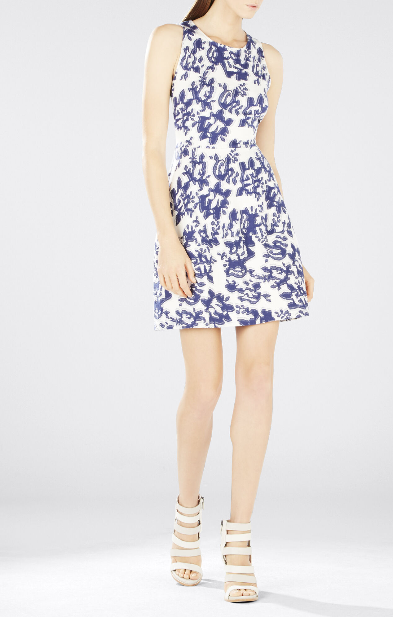 Cassandra Sleeveless A-Line Dress