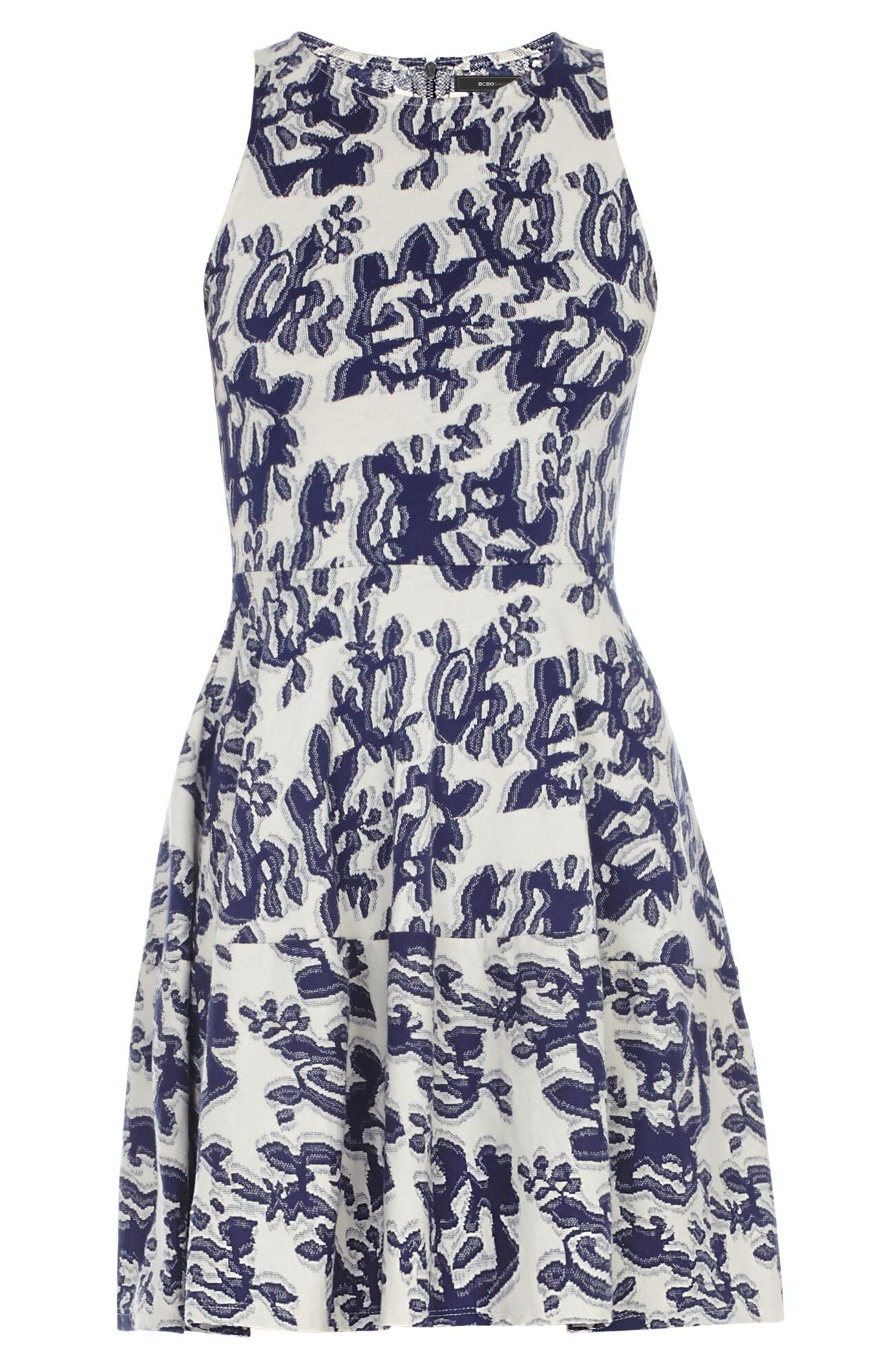 Cassandra Sleeveless A-Line Dress