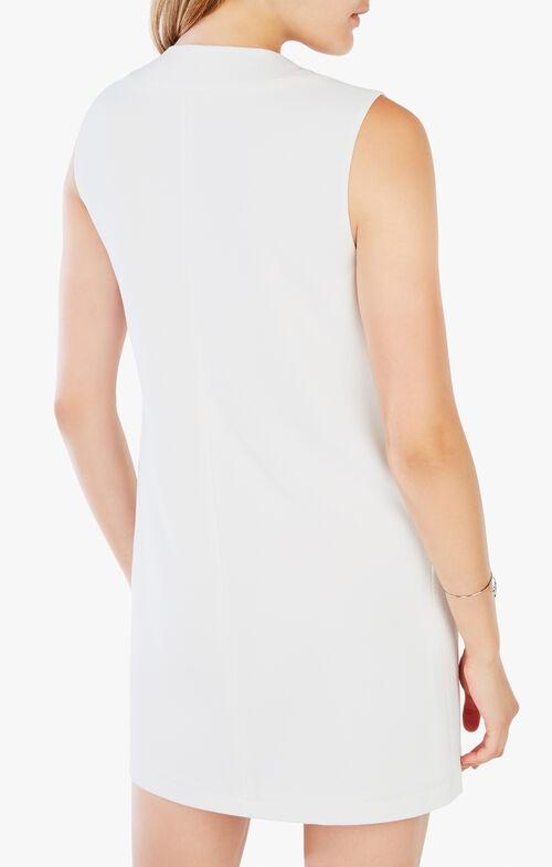 Therese Satin-Trim Dress