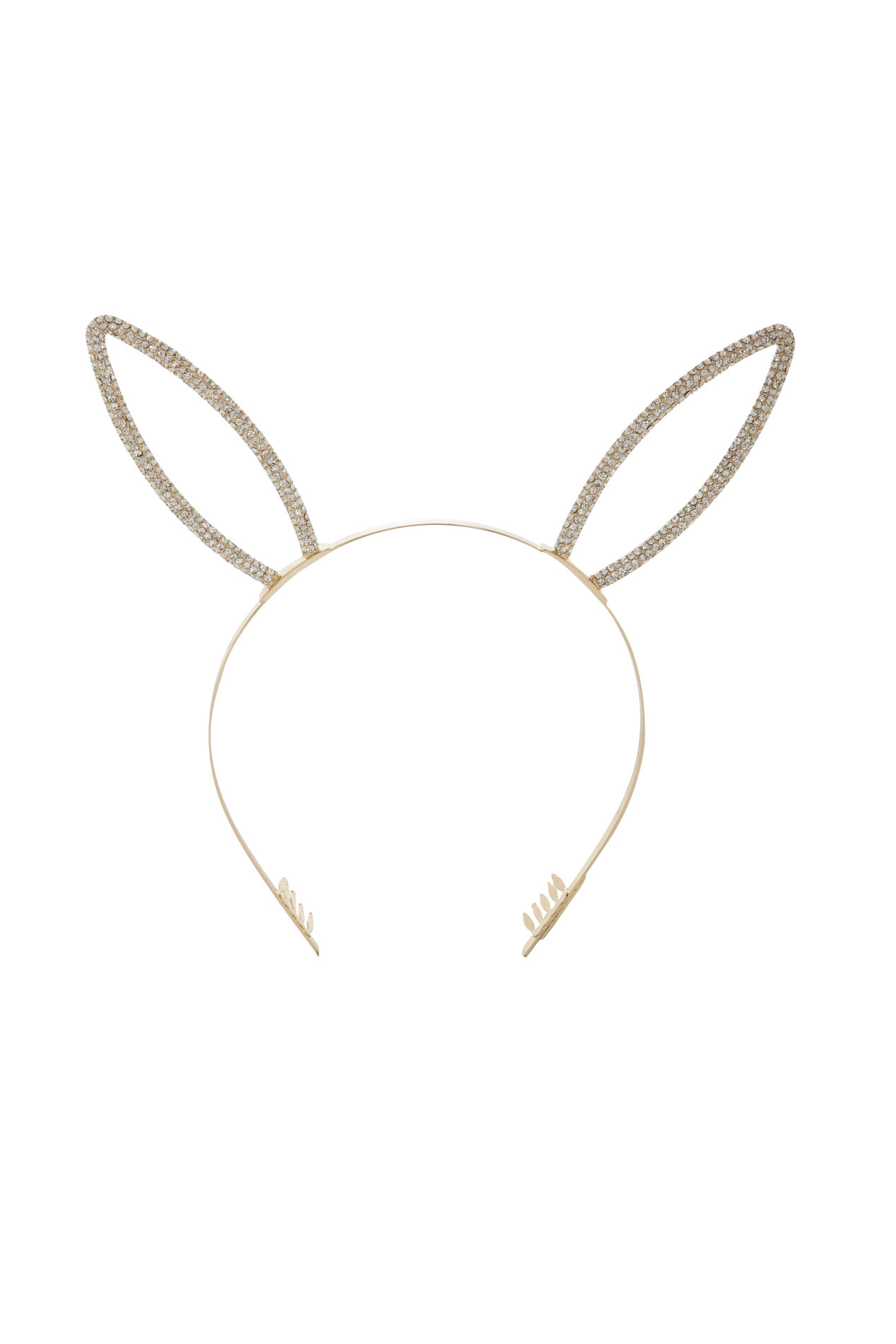 Pave Bunny Ears Headband
