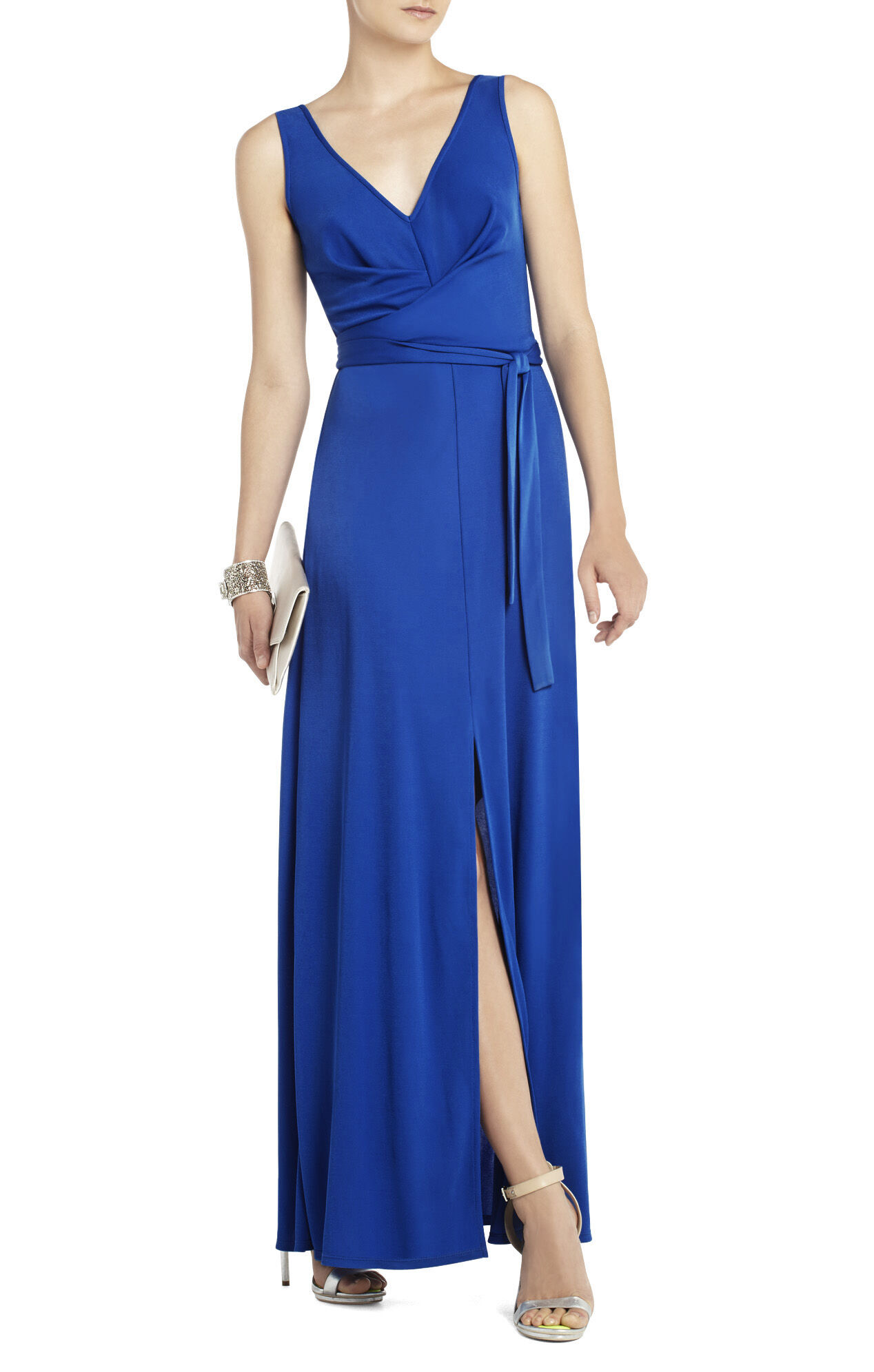 Mae Maxi Dress With V-Neck