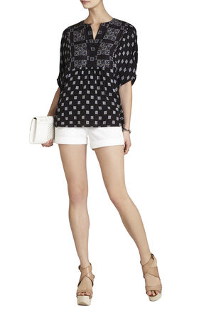 Skarlett Relaxed-Fit Handkerchief Top