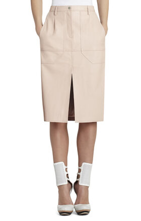Runway Petra Leather Skirt