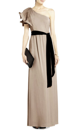 Mel One-Shoulder Long-Length Dress