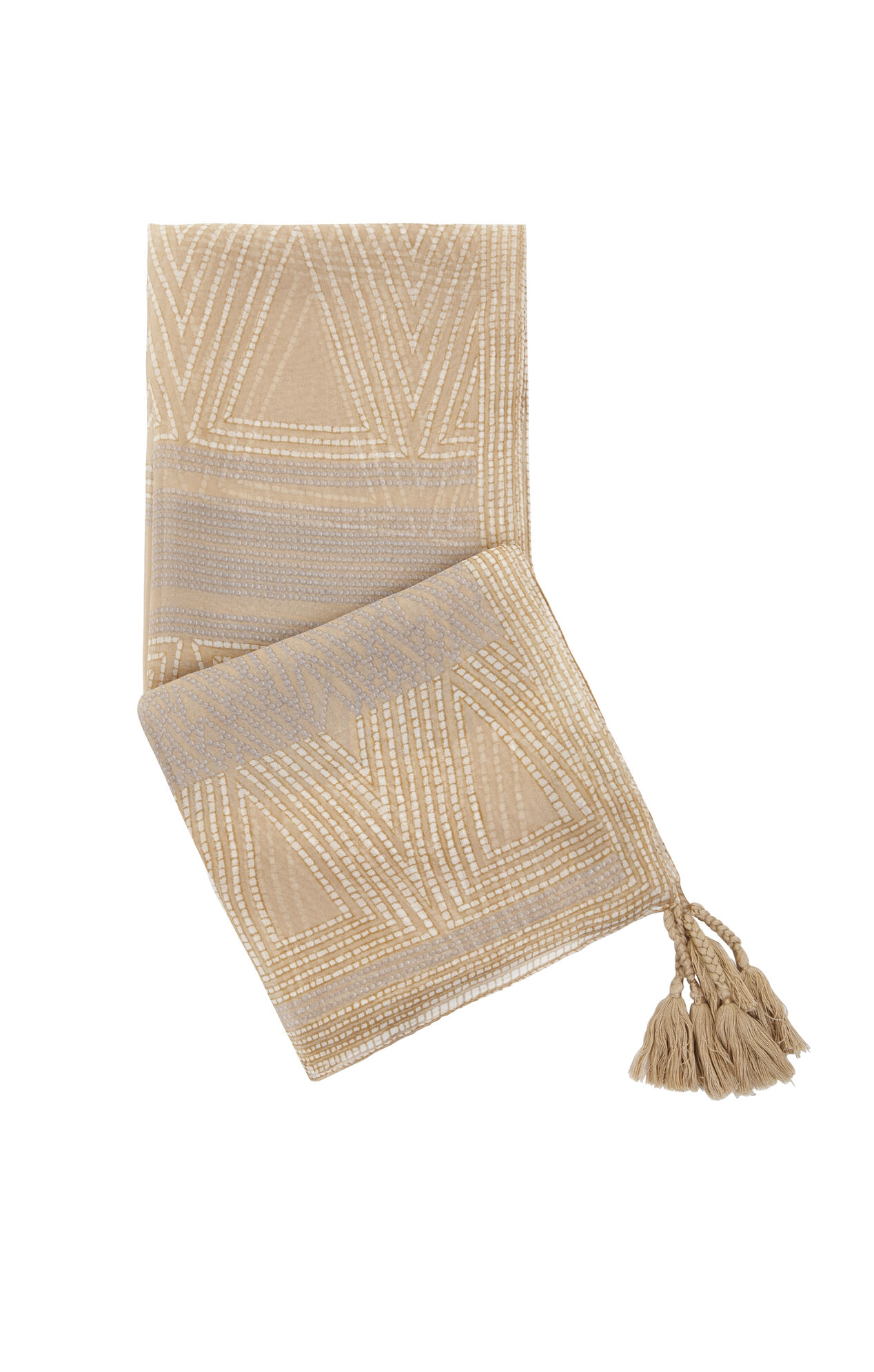 Printed Stitched Scarf