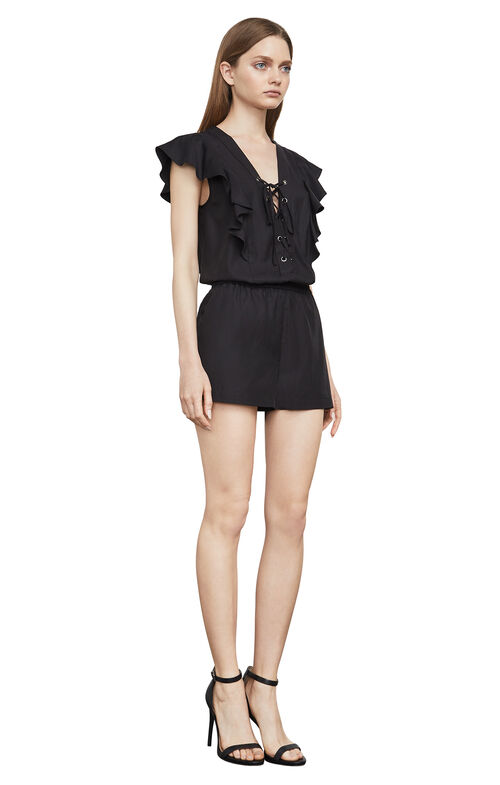 Kenzi Lace-Up Romper