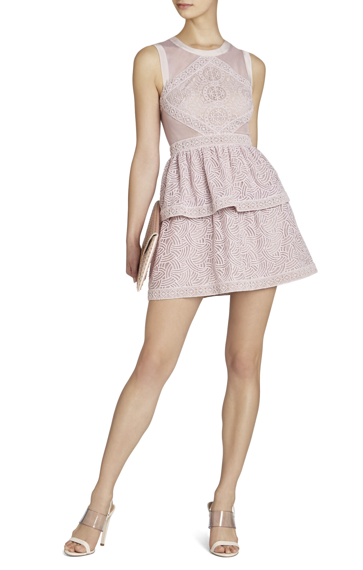 Joselyn Sleeveless Peplum Dress