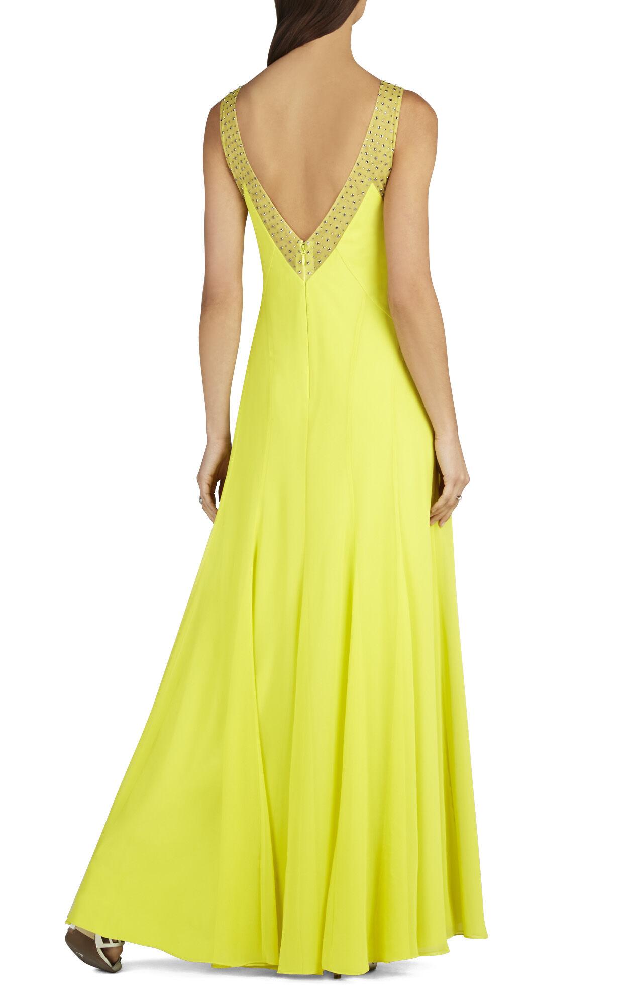 Mariena Embellished V-Neck Gown