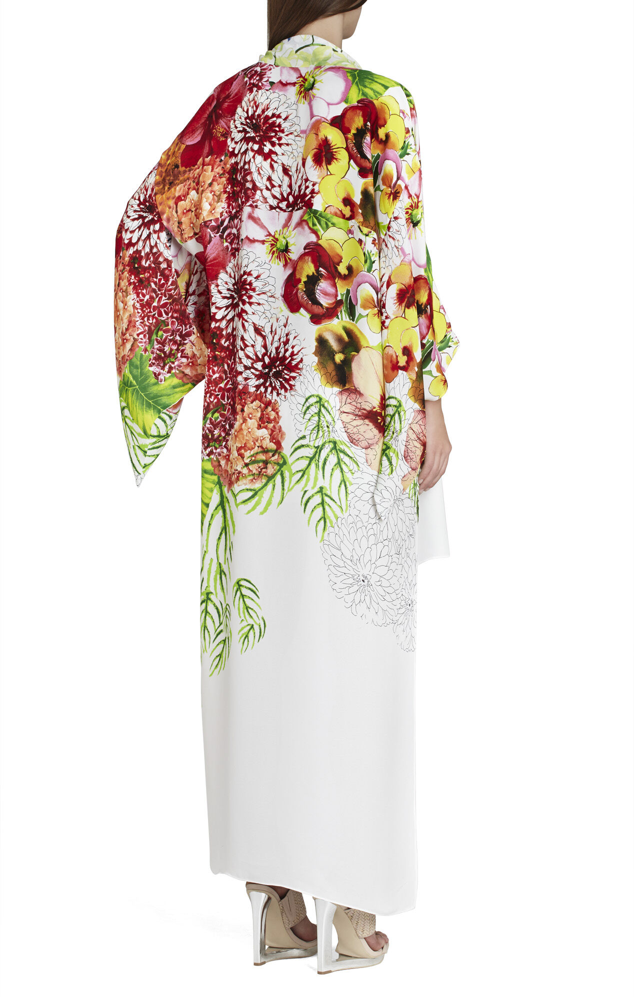 Shannan High-Low Kimono Top
